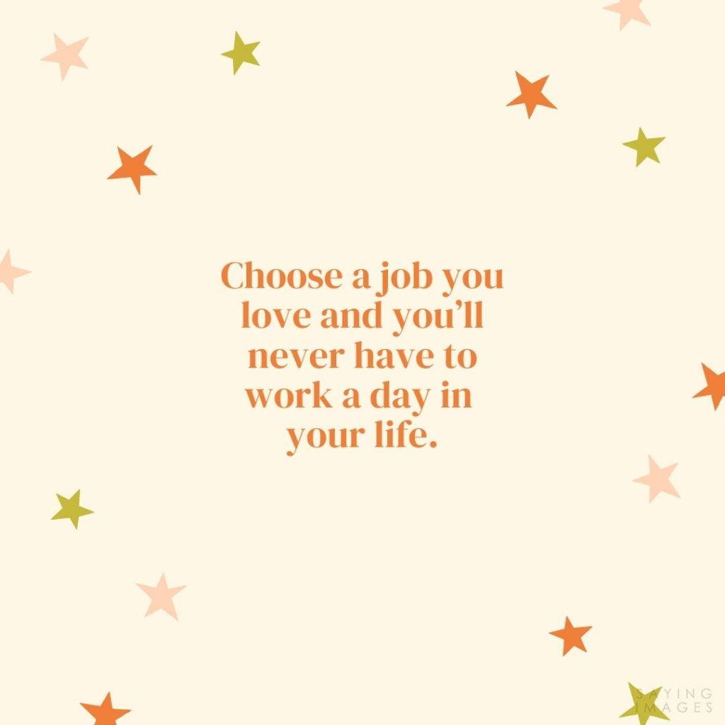 confucius job quotes