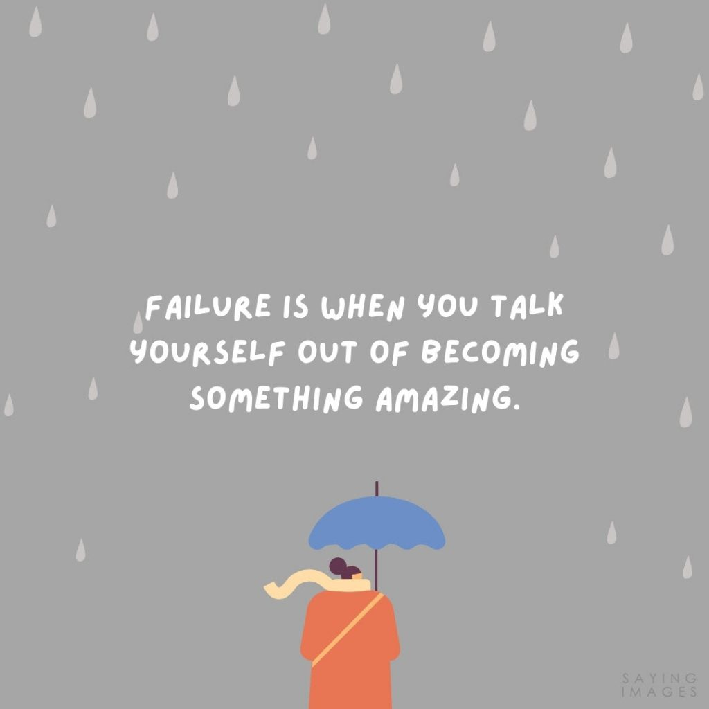 fear of failure amazing quotes