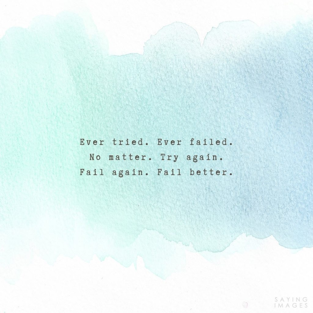 fear of failure ever tried quotes