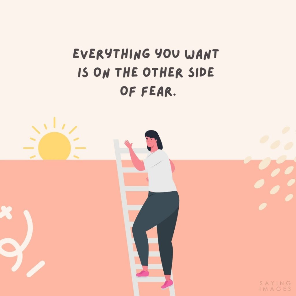 fear of failure everything you want quotes