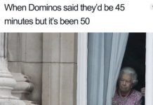 food delivery memes dominos