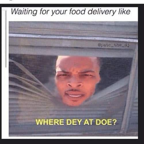 food delivery memes where fey at doe