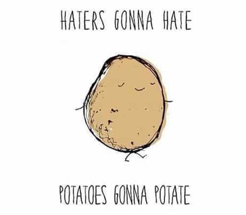potato haters meme