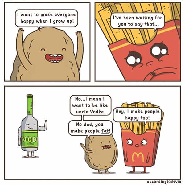 potato make everyone happy meme