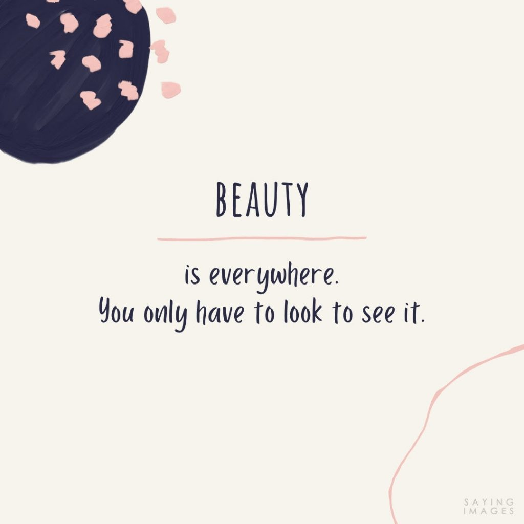 quotes for beauty facebook