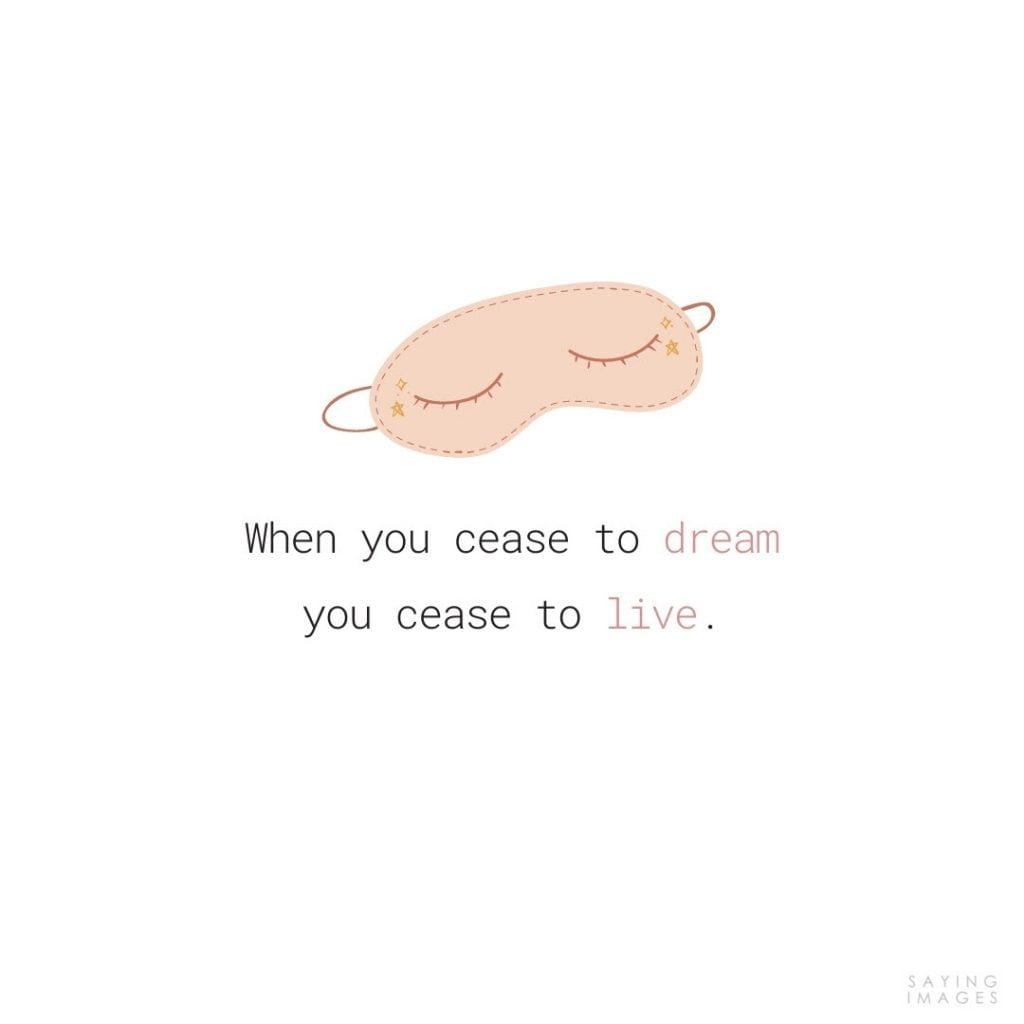 quotes for dream facebook
