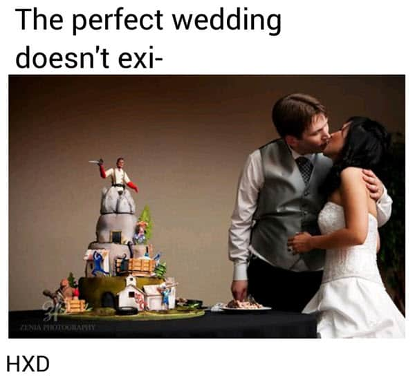 wedding perfect meme