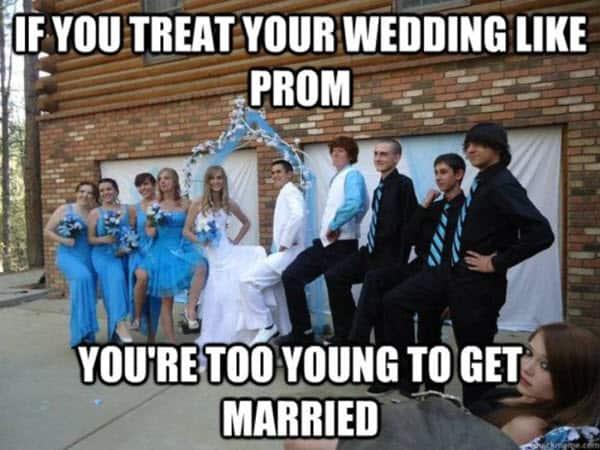 wedding prom like meme