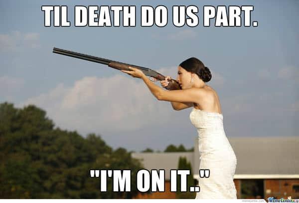 wedding til death do us part meme