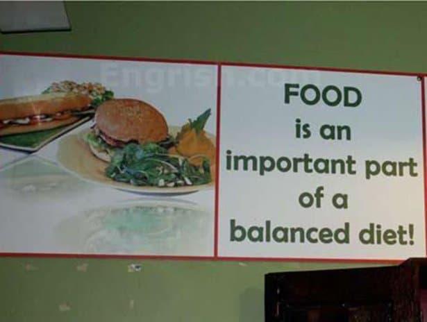 Food is important Captain obvious Meme