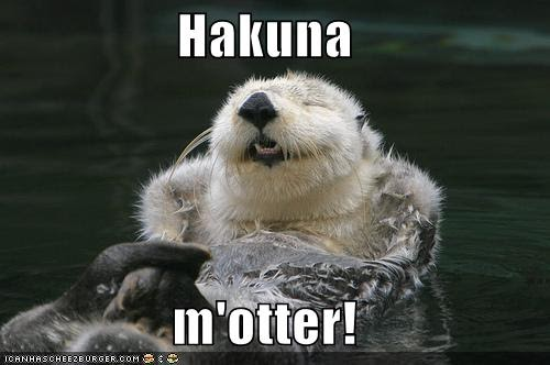 Hakuna Otter Meme