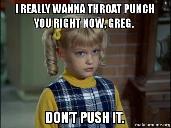 I really wanna Throat punch Meme