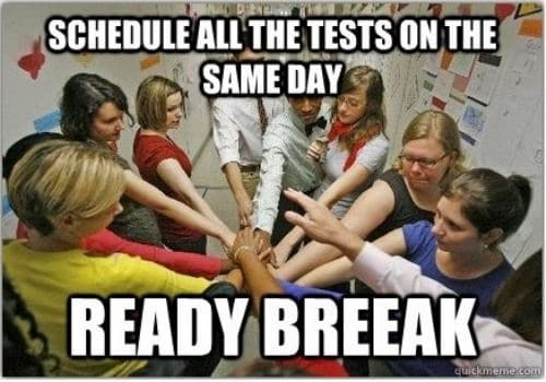 Ready Break Test Meme