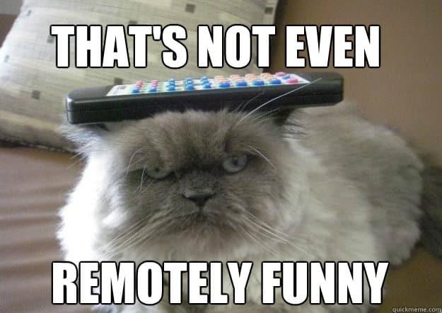 Remotely funny Not funny Meme