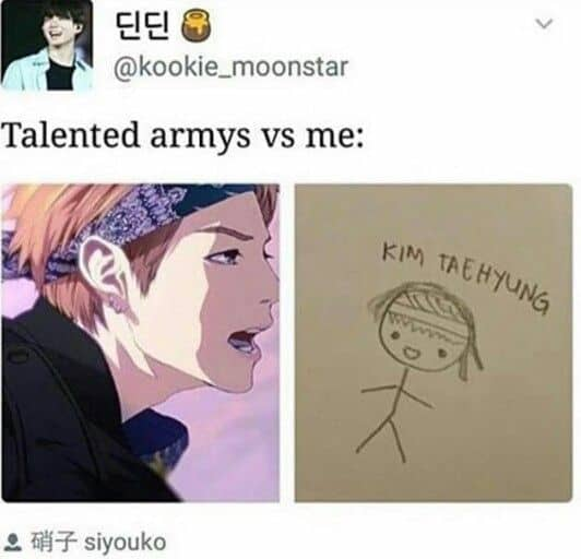 Talented armys Drawing Meme