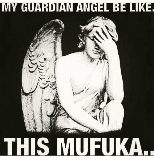 This mufaka Angel Meme