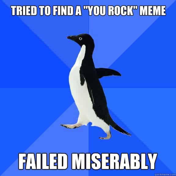 rock meme