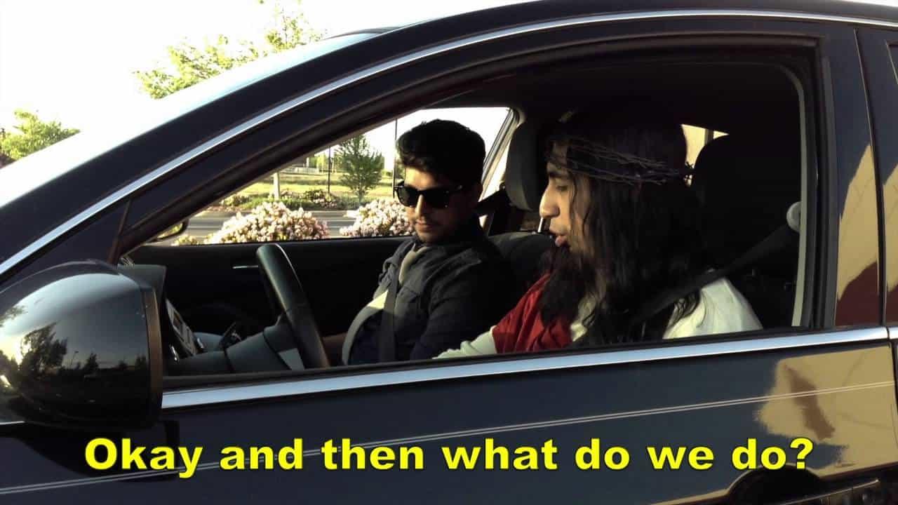 What do we do Jesus take the wheel Meme