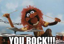 you rock meme