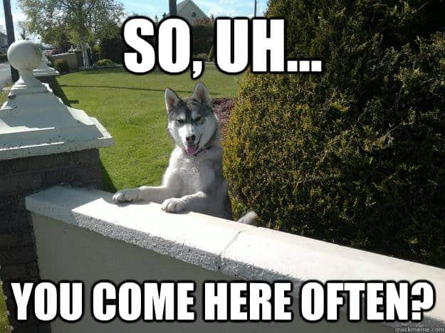 You come here often Flirty Meme