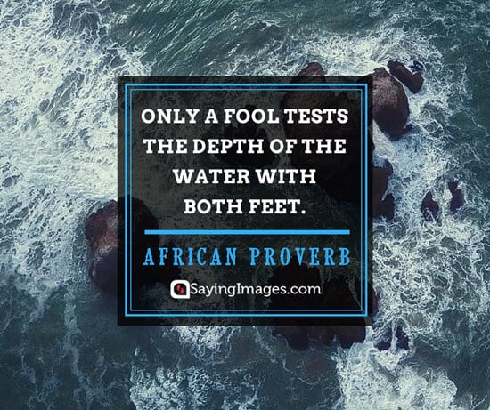 african proverbs fools quotes