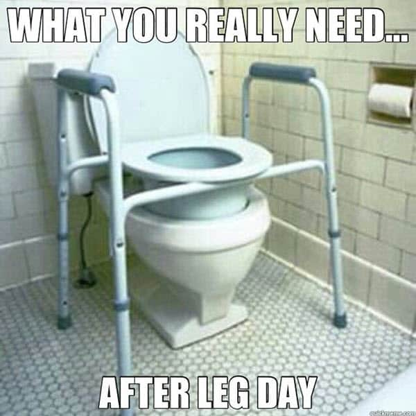 after leg day what you really need meme
