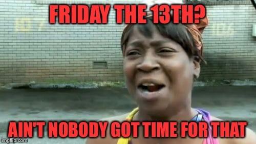 20 Friday The 13th Memes | SayingImages.com
