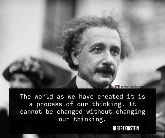 albert einstein change quotes