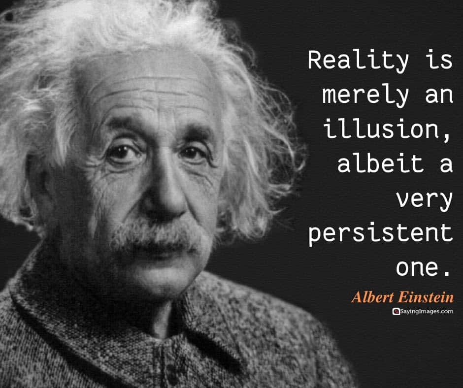 albert einstein reality quotes