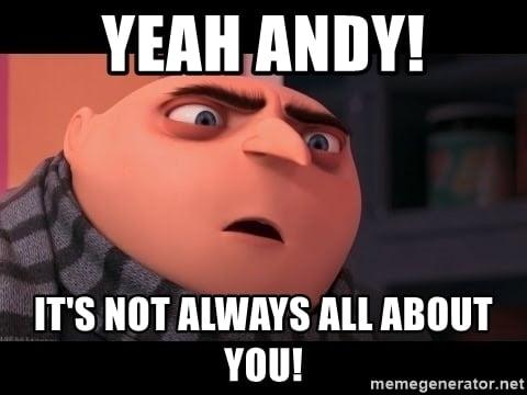 andy gru meme
