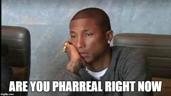 annoyed pharreal meme