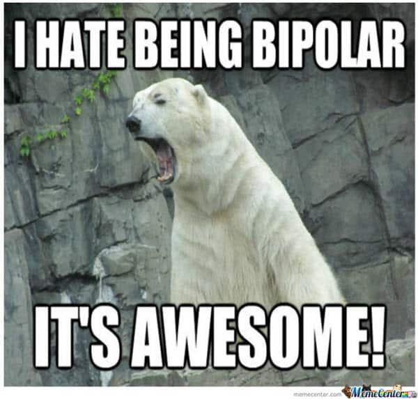 awesome bipolar meme