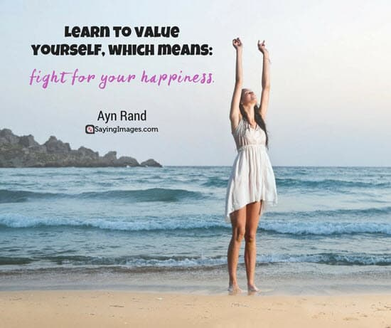 ayn rand happiness quotes