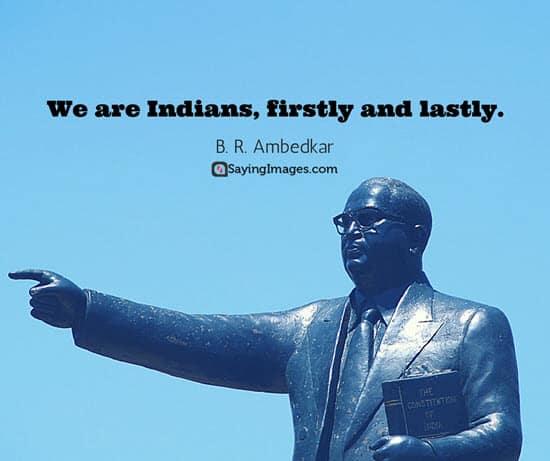 b r ambedkar republic day quotes