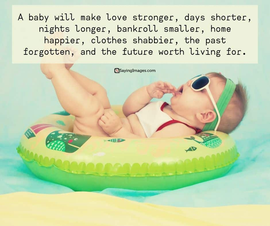 24 Sweet and Adorable Baby Quotes | SayingImages.com
