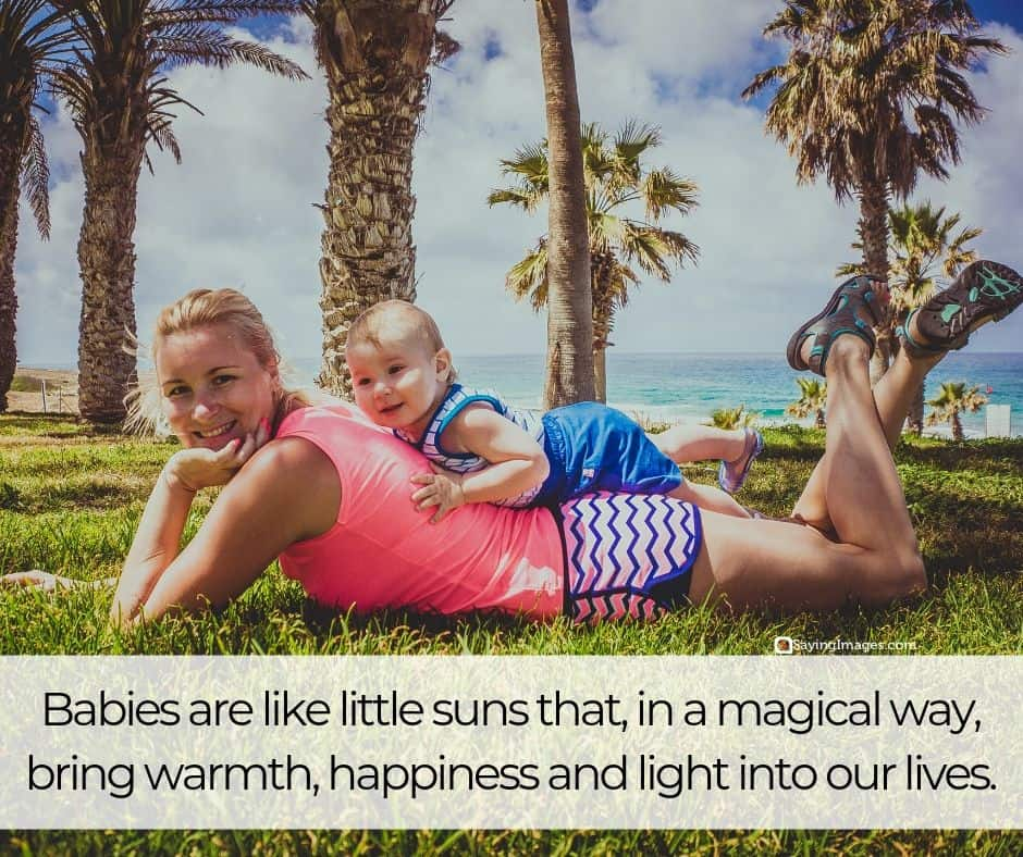 baby sun quotes
