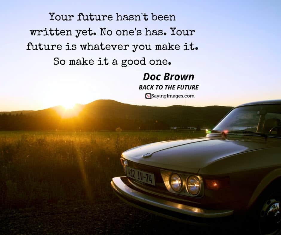 back to the future quotes brown