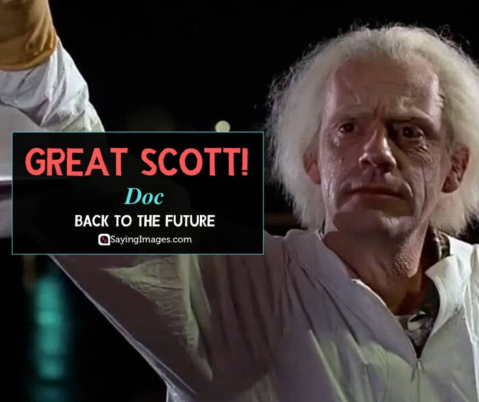 back to the future quotes doc