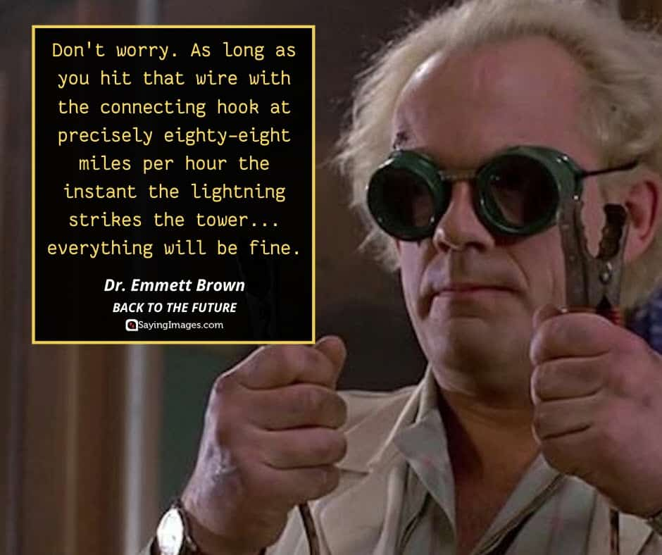 back to the future quotes emmet