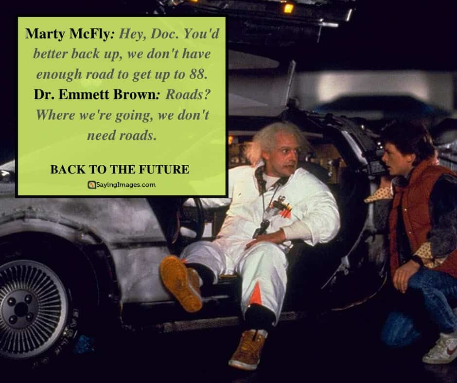 back to the future quotes marty brown