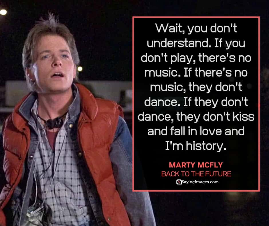 back to the future quotes mcfly