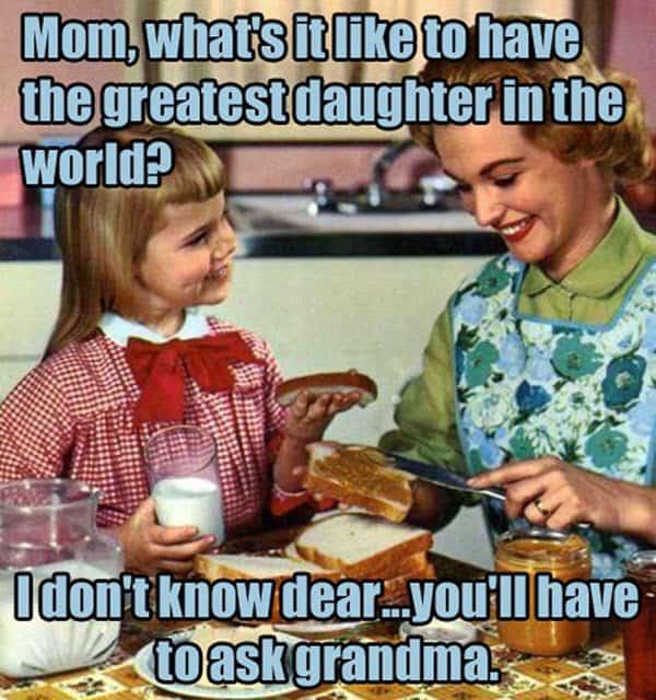 bad mom ask grandma meme