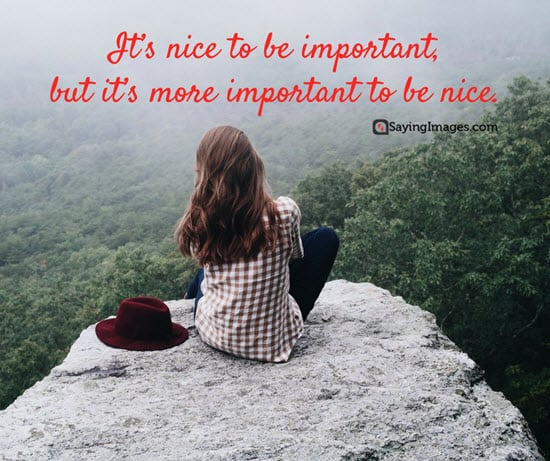 60 Inspiring Kindness Quotes To Live By SayingImages Impressive Nice Images With Quotes