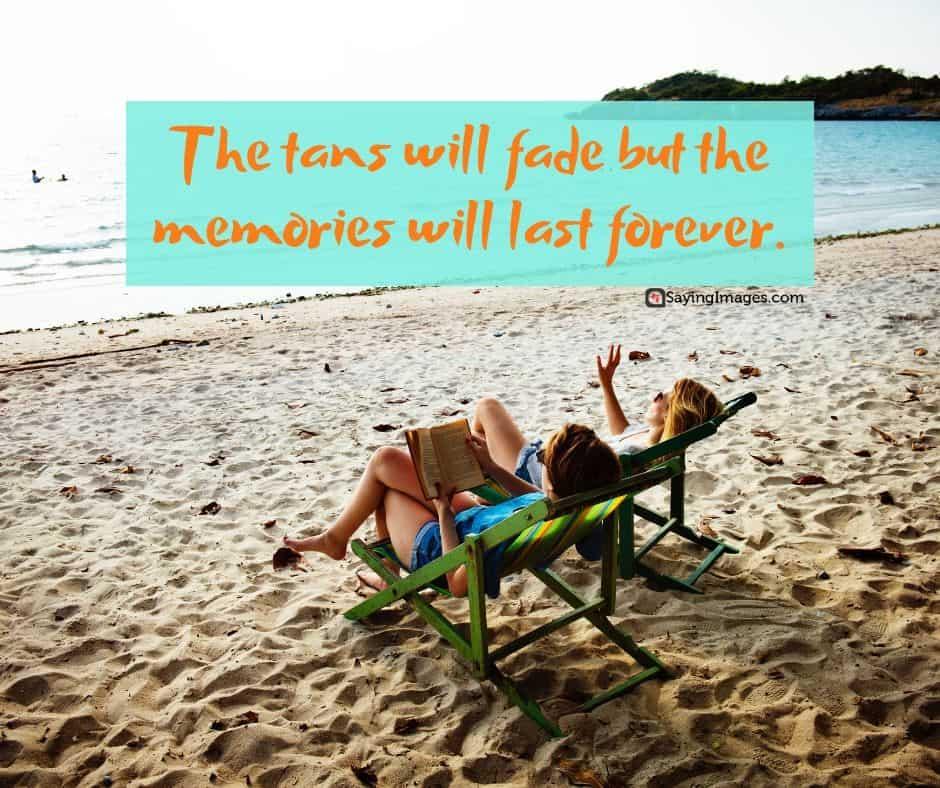 beach memories quotes