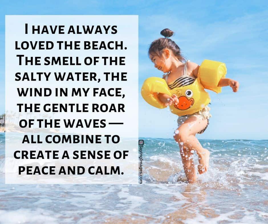 beach quotation