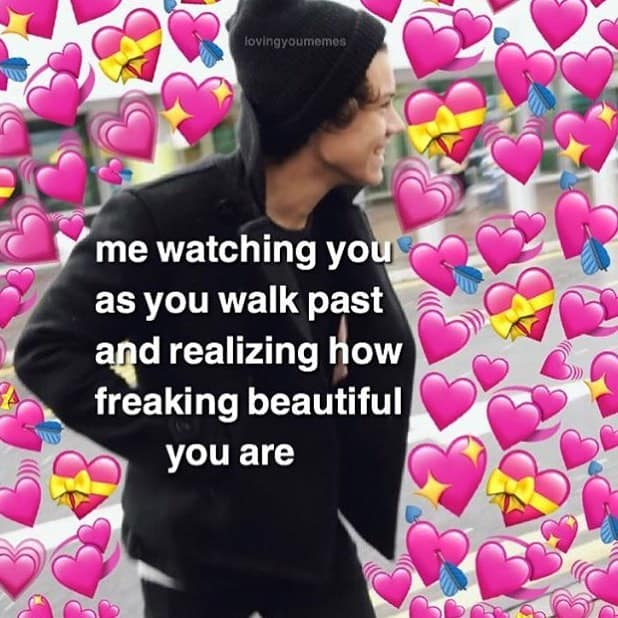 Heart Meme All My Uwu S For You With Images Cute Love Memes