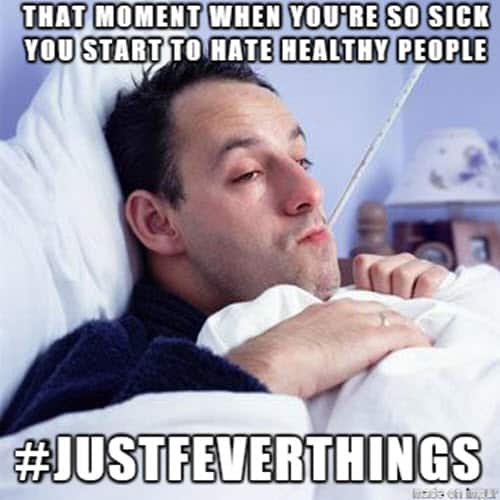being sick that moment meme
