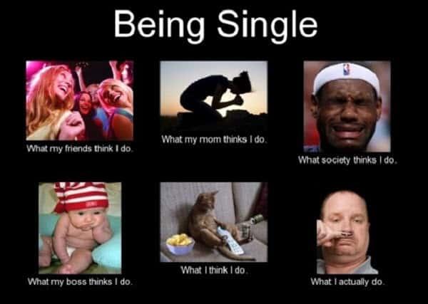 being single meme