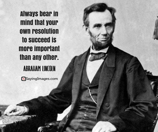 best abraham lincoln quotes