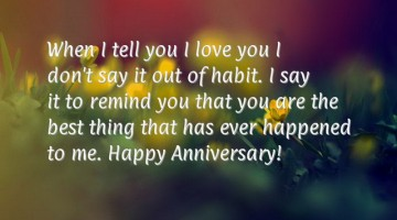 Happy Anniversary Wishes & Messages